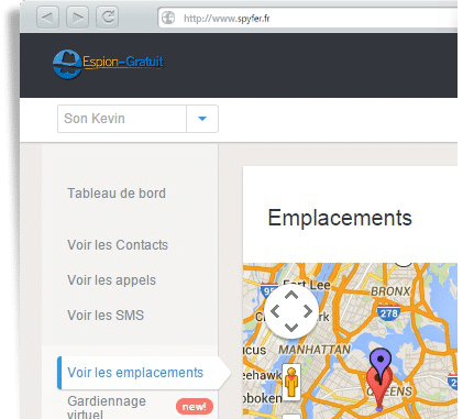 Re : localiser un telephone portable gratuitement